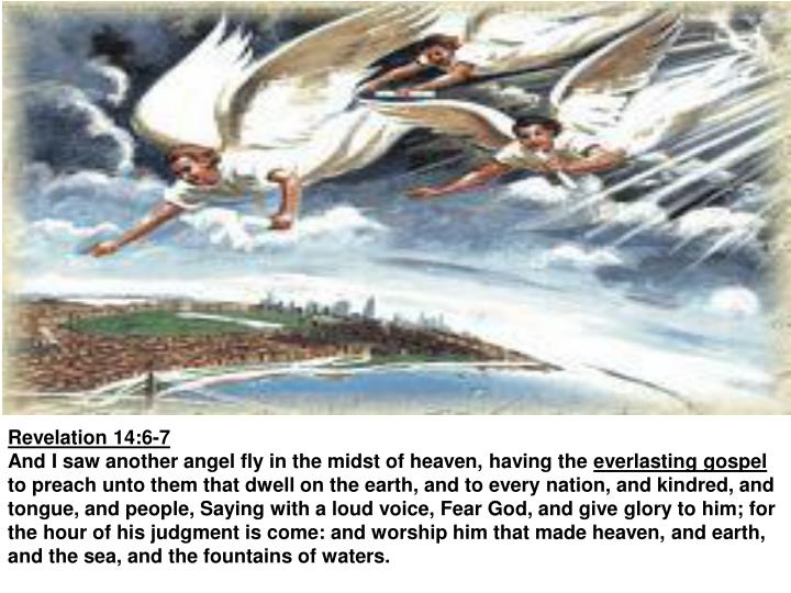 Revelation 14:6-7