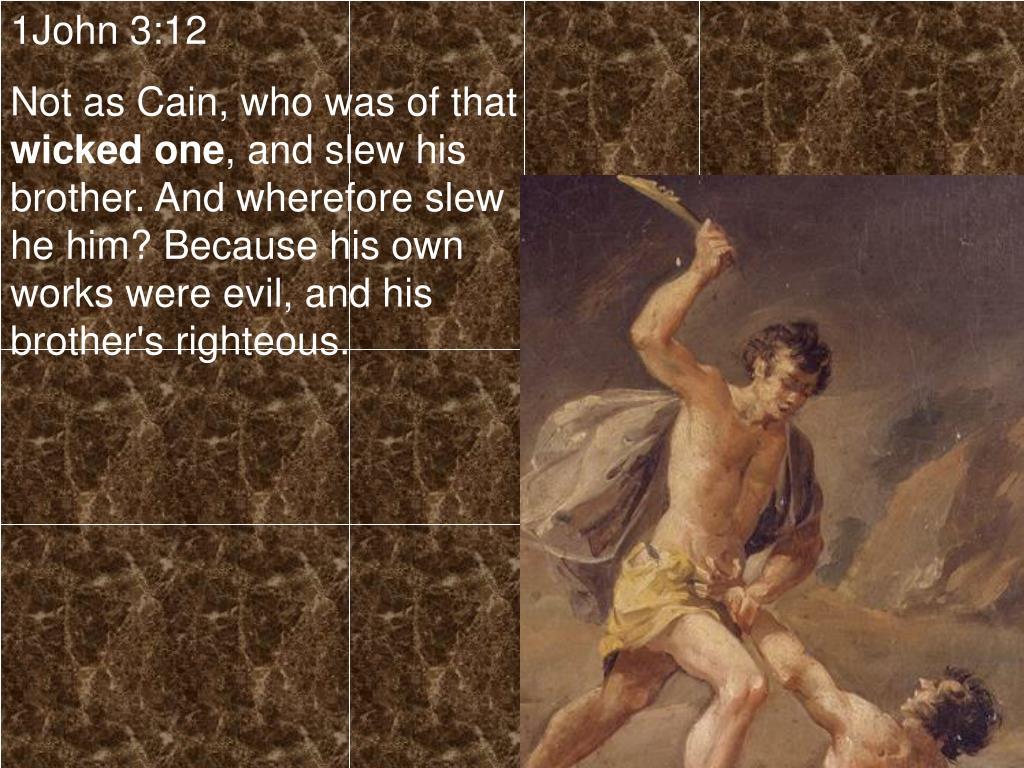 1John 3:12