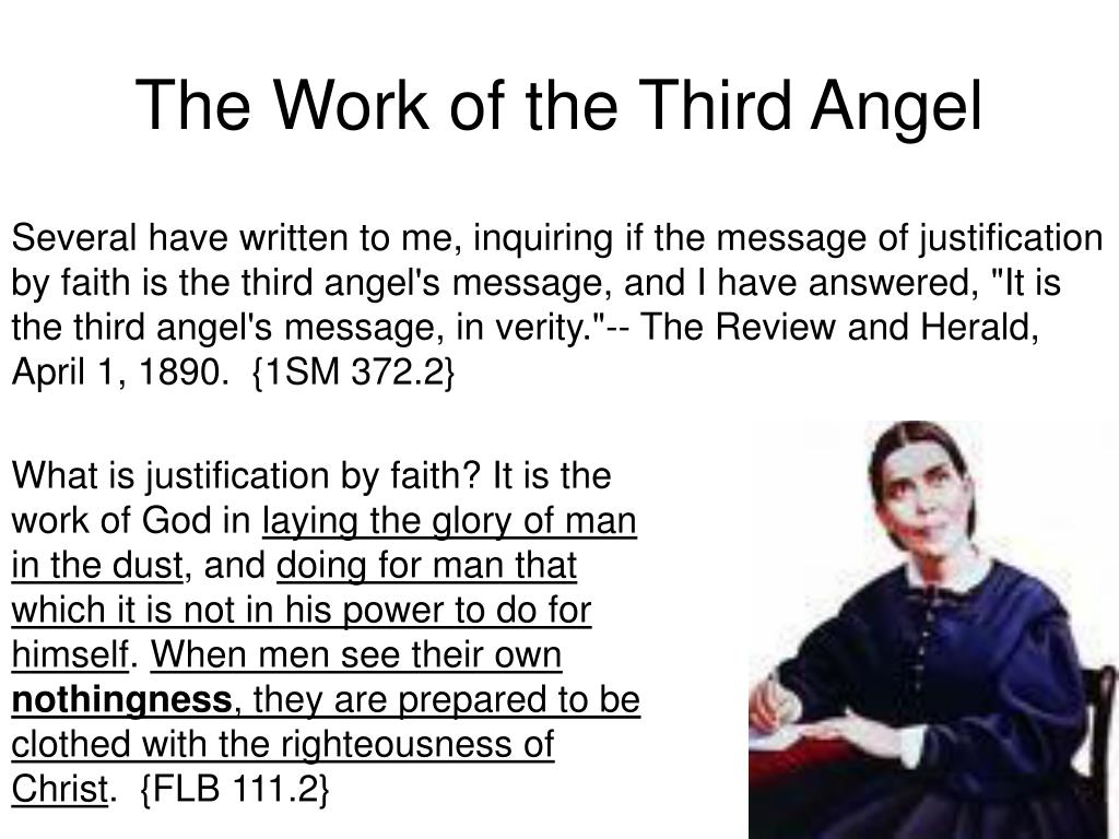 The Work of the Third Angel
