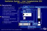 ventilation system liver transplantation icu paul brousse hospital