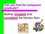 can you find the compound predicate1
