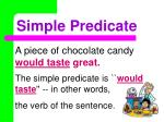 simple predicate1