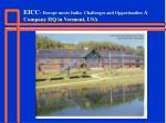 eicc europe meets india challenges and opportunities a company hq in vermont usa