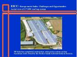 eicc europe meets india challenges and opportunities aerial view of 3 7 mw roof top system