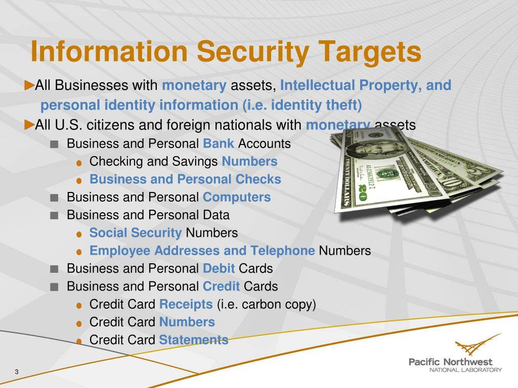 Information Security Targets
