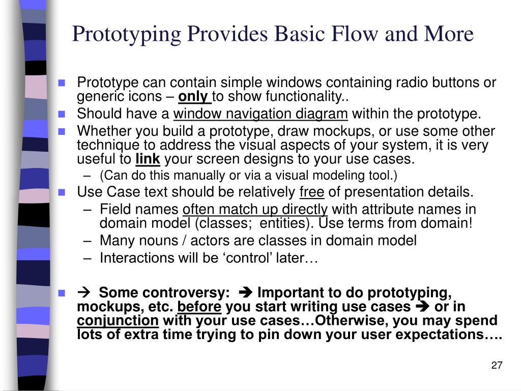 Prototyping Provides Basic Flow and More