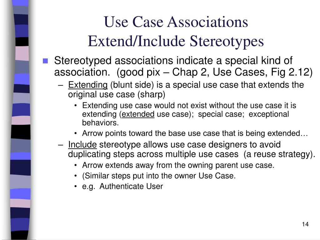 Use Case Associations
