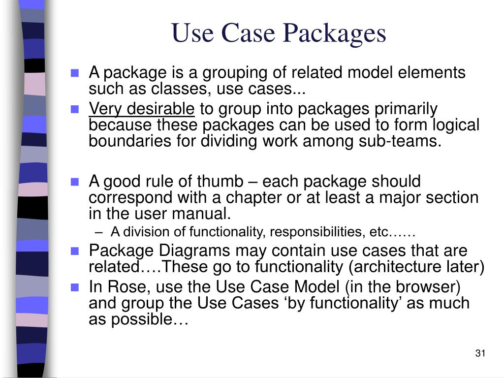 Use Case Packages