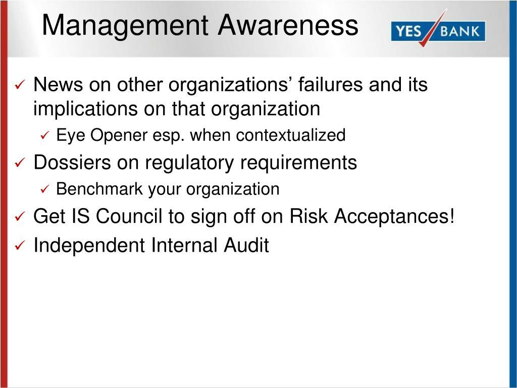 Management Awareness