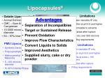 lipocapsules