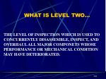 what is level two