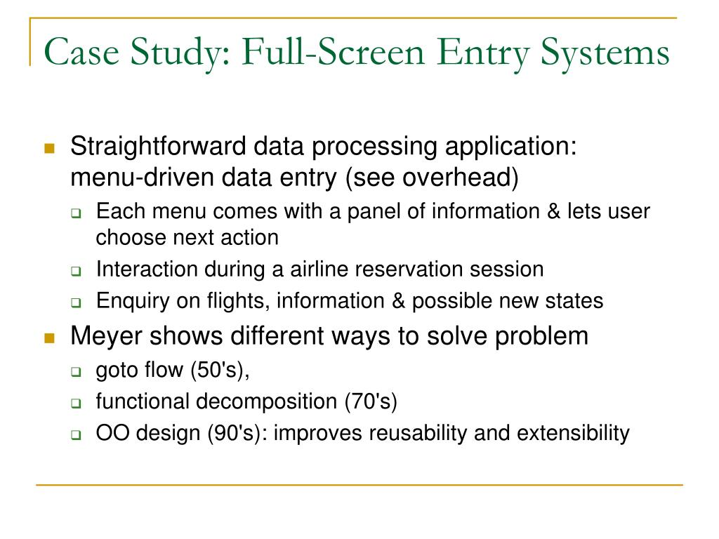 Case Study: Full‑Screen Entry Systems