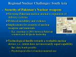 regional nuclear challenges south asia17