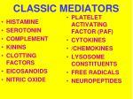 classic mediators
