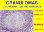 granulomas granulomatous inflammation
