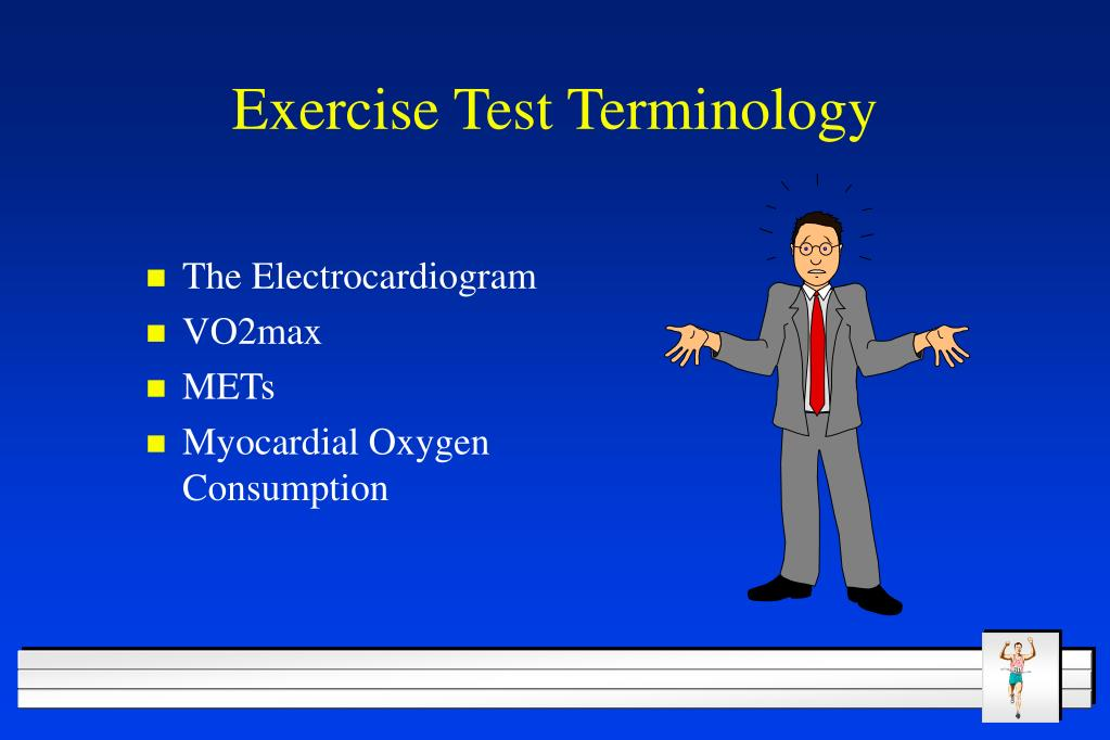 Exercise Test Terminology