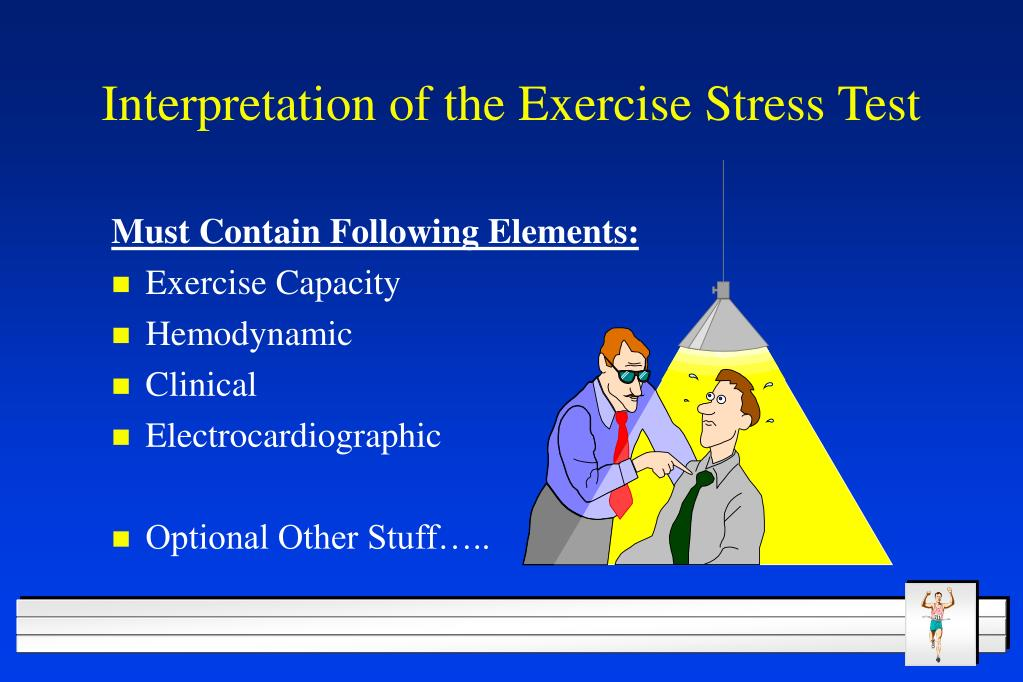Interpretation of the Exercise Stress Test