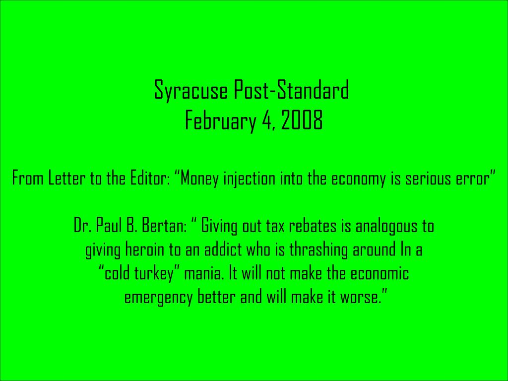 Syracuse Post-Standard