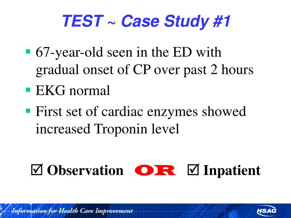 TEST ~ Case Study #1