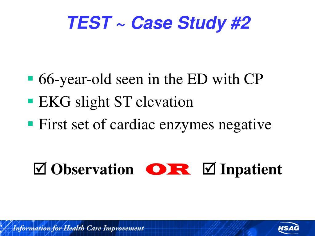 TEST ~ Case Study #2