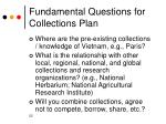 fundamental questions for collections plan1