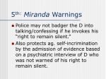 5 th miranda warnings11