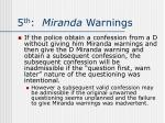 5 th miranda warnings12