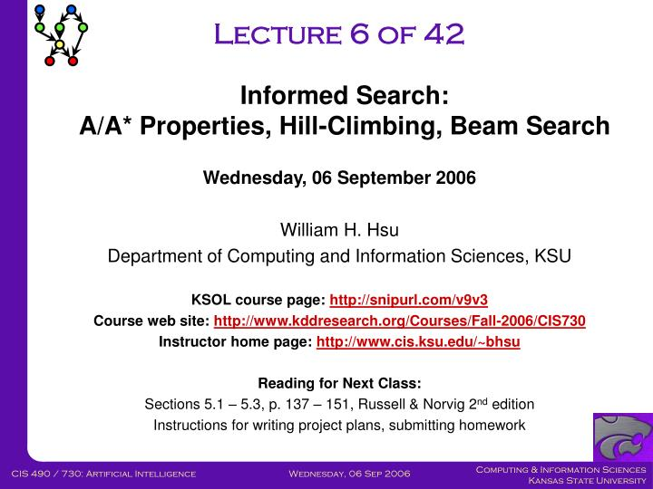 Lecture 6 of 42