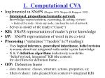 1 computational cva