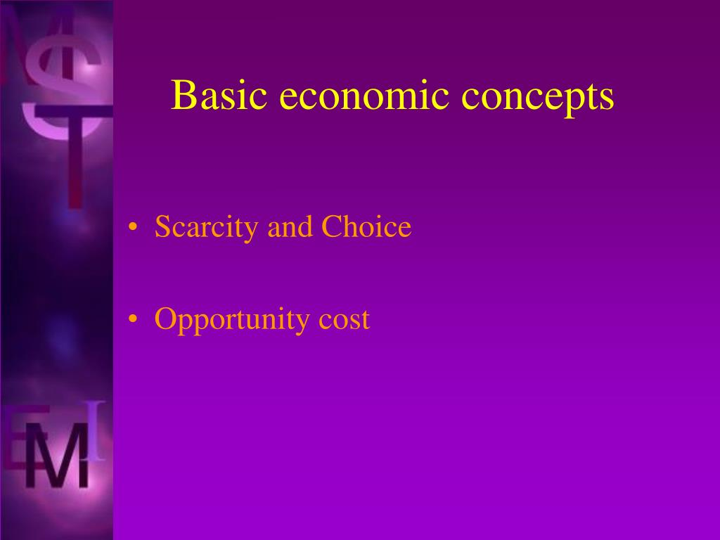 basic economic concepts l.