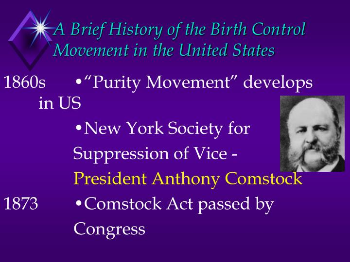A brief history of the birth control movement in the united states2