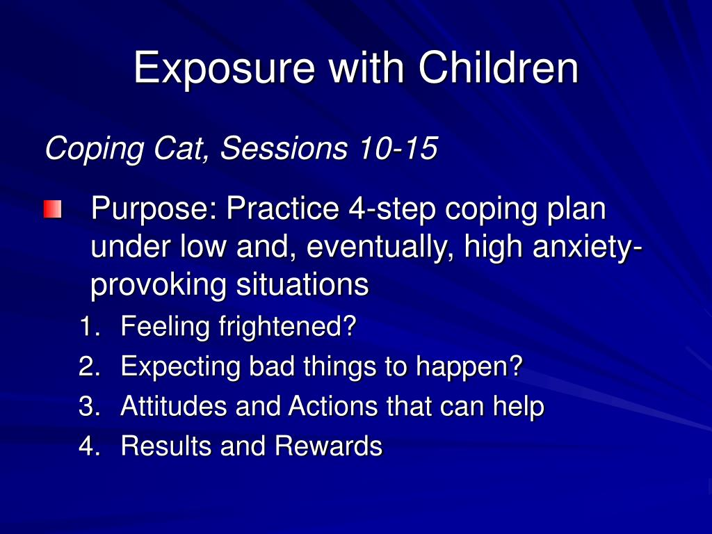 Exposure with Children