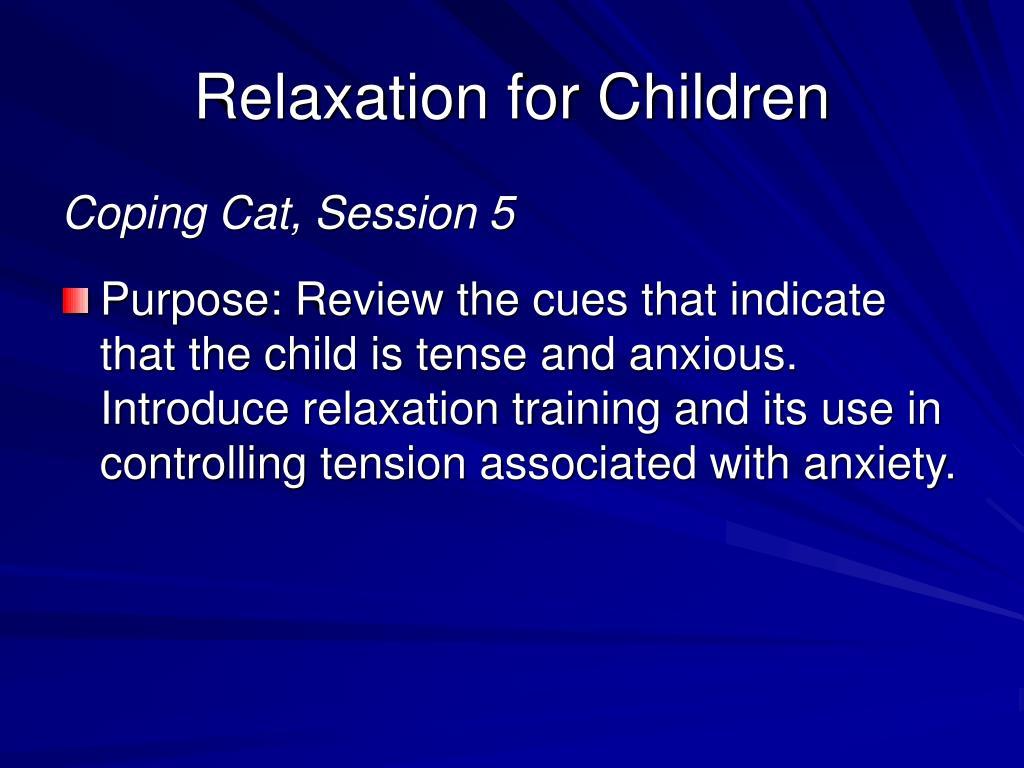 Relaxation for Children