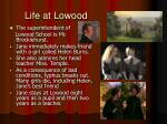 life at lowood