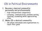 od in political environments