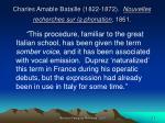 charles amable bataille 1822 1872 nouvelles recherches sur la phonation 186132