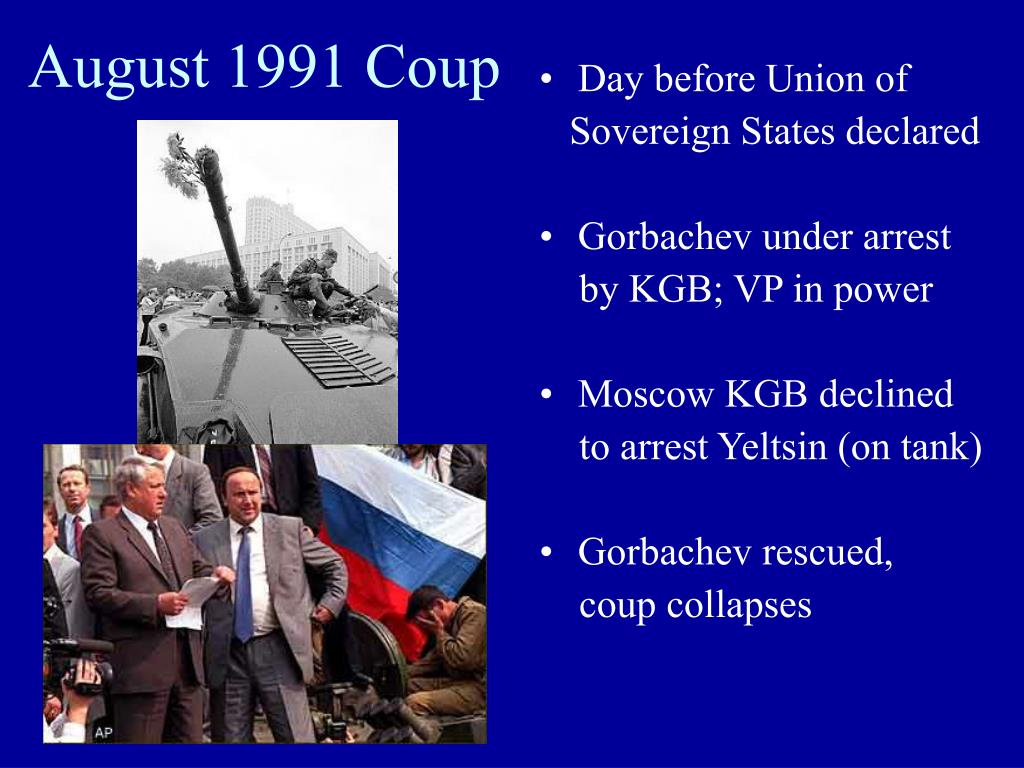 August 1991 Coup