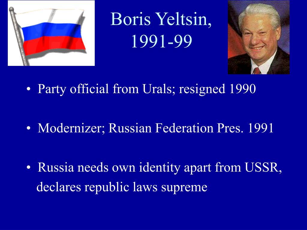 Boris Yeltsin,