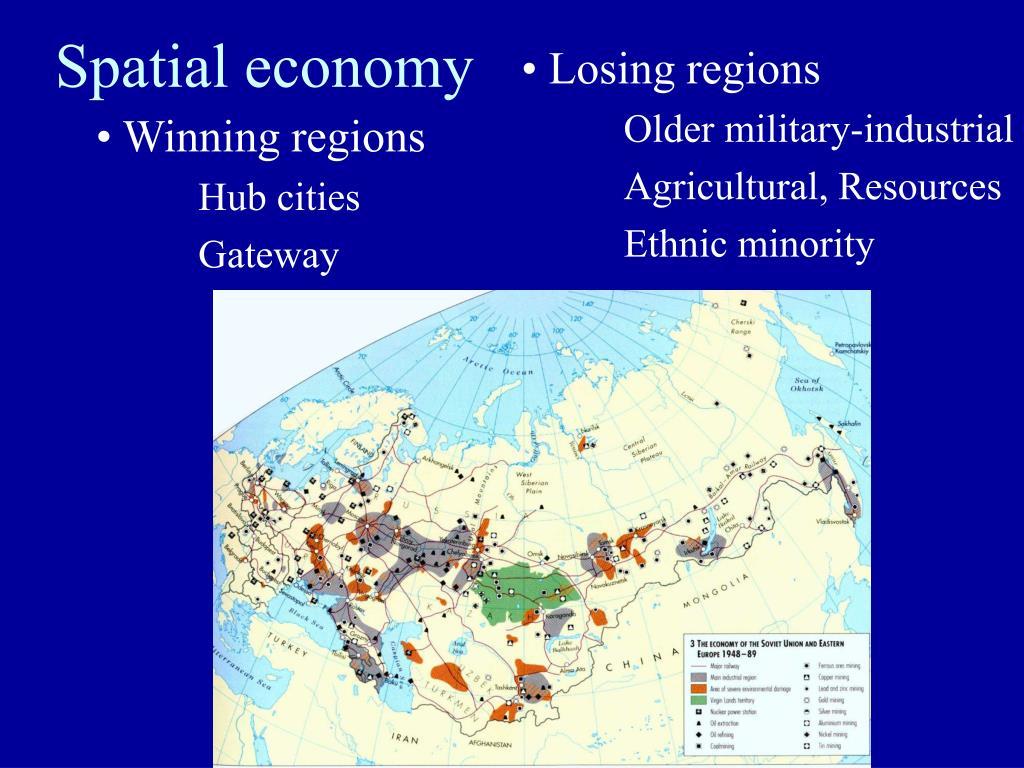 Losing regions