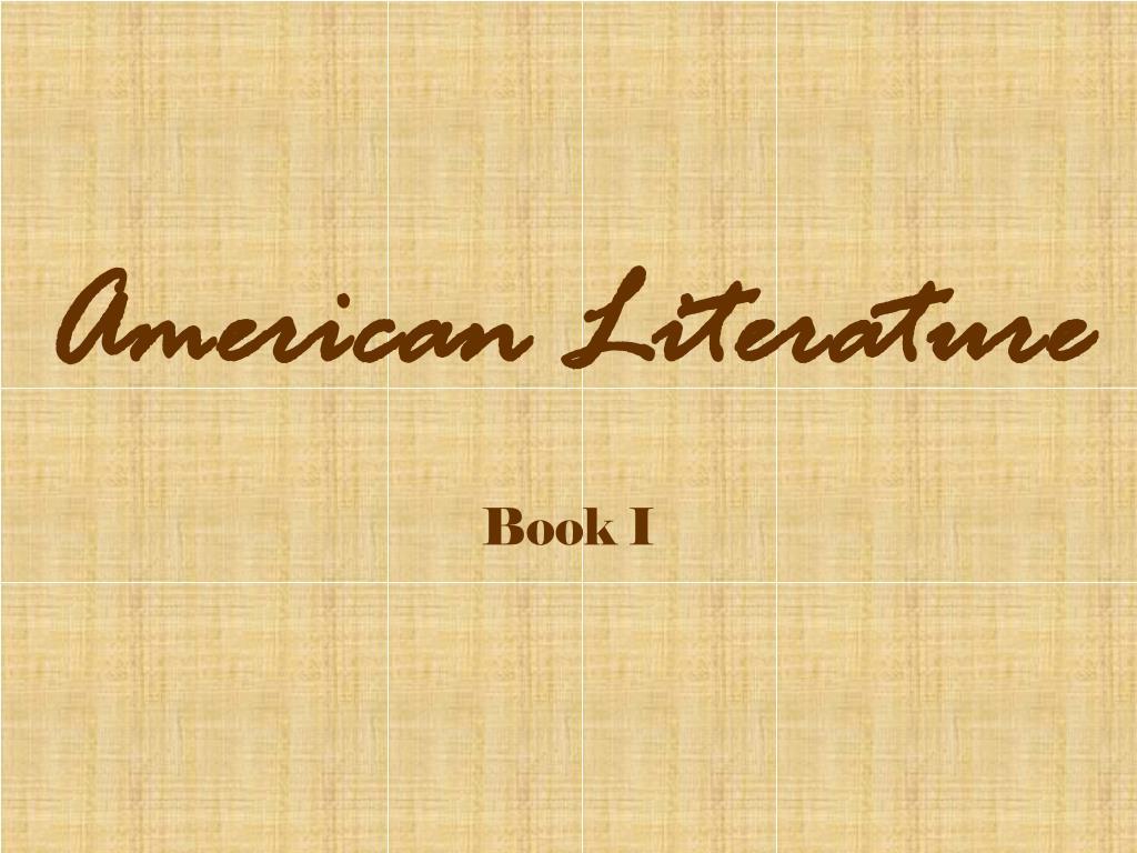 american literature l.