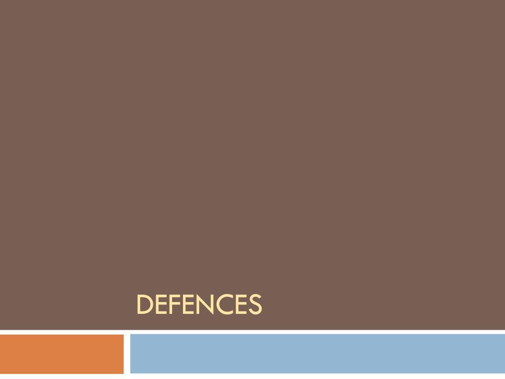 defences l.