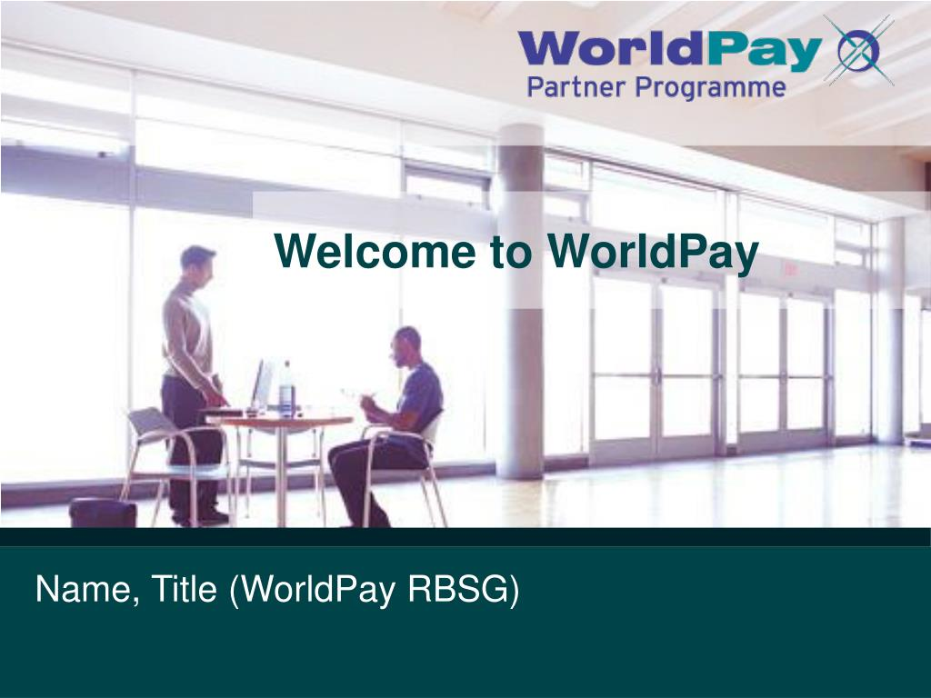 welcome to worldpay l.