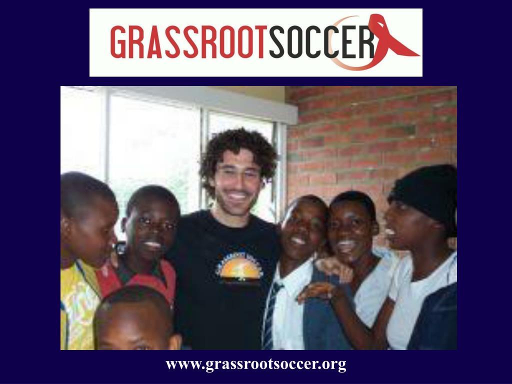 www.grassrootsoccer.org