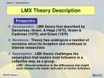 lmx theory description