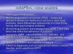 mmpi a new scales
