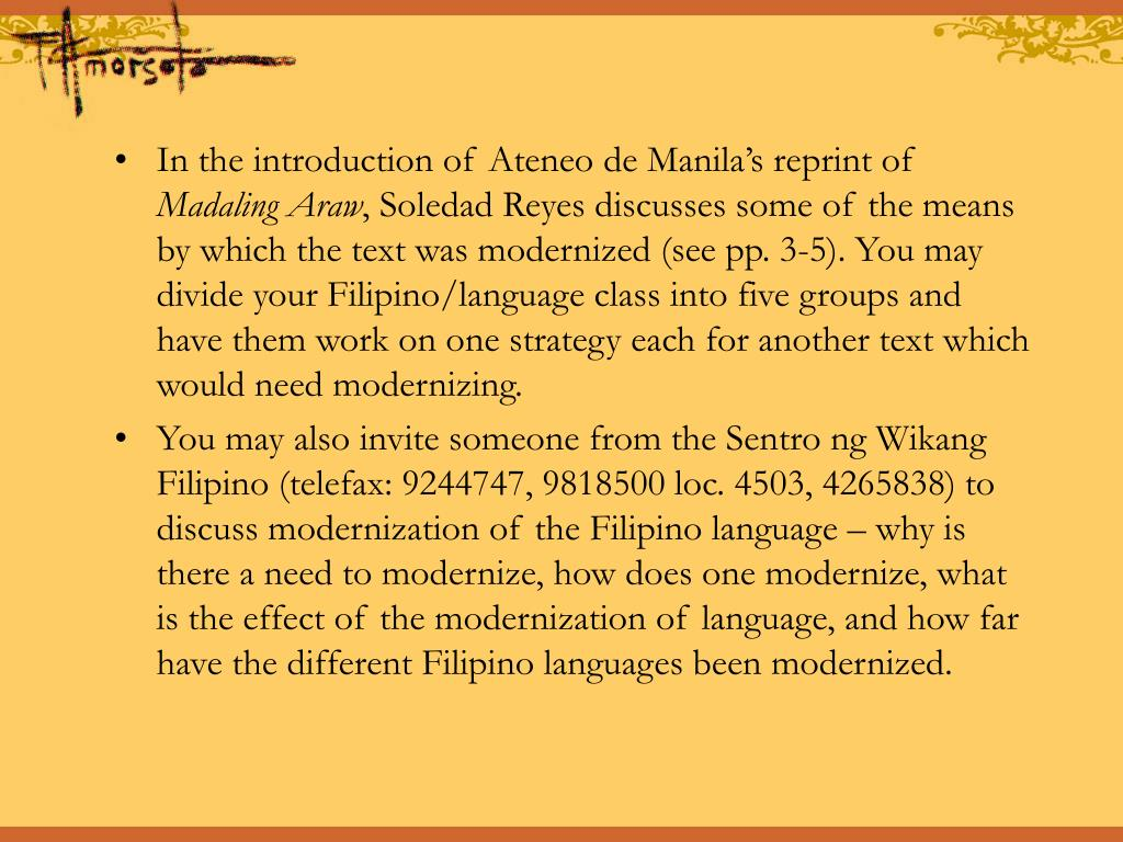 In the introduction of Ateneo de Manila's reprint of