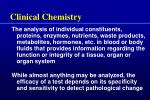 clinical chemistry2