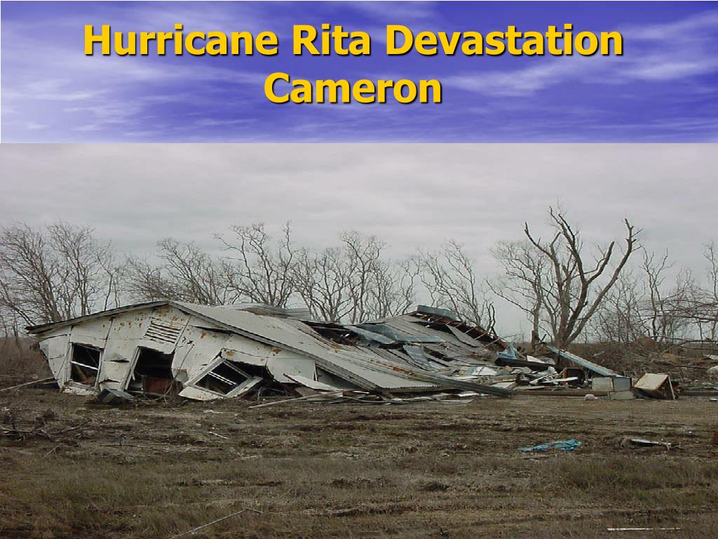 Hurricane Rita Devastation Cameron
