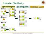 pairwise similarity
