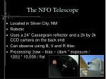 the nfo telescope